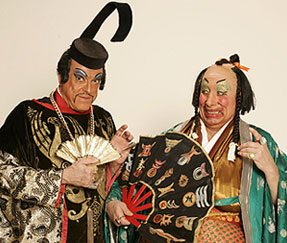 Keith Jurosko amd Louis Dall'Ava in The Mikado