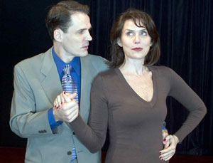 Joseph Collins and Amy Landecker in Apartment 3A