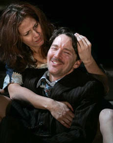Kathleen McNenny and Andrew McCarthy in A Moon for the Misbegotten
