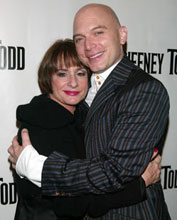 Patti LuPone and Michael Cerveris