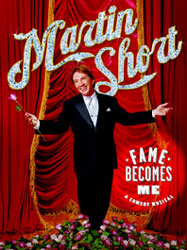 Publicity art for Martin Short'sFame Becomes Me