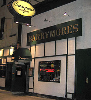 Barrymores, a few days before its finale(Photo © Michael Portantiere)