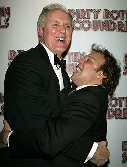John Lithgow and Norbert Leo Butz(Photo © Joseph Marzullo)