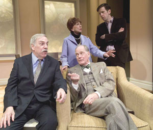 Edwin C. Owens, Evan Thompson, Doris Belack and Robert Stanton in The Right Kind of People