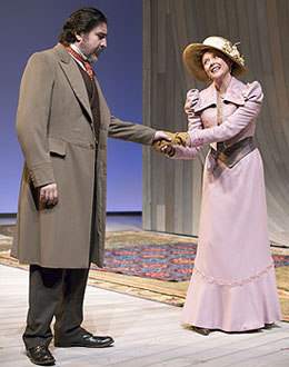 Alfred Molina and Annette Beningin The Cherry Orchard