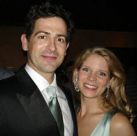 Greg Naughton and Kelli O'Hara(Photo courtesy of the couple)
