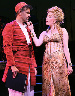 Brian Stokes Mitchell and Marin Mazzie in Kismet