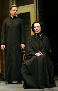 Ron Eldard and Eileen Atkins  in Doubt