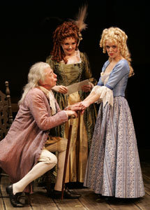 David Cromwell, Patti Allison, and Nancy Anderson in Fanny Hill