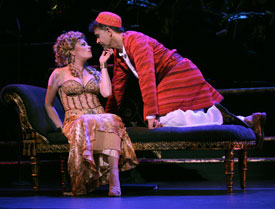 Marin Mazzie and Brian Stokes Mitchell in Kismet