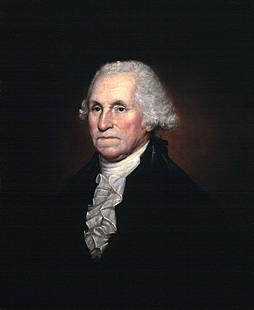 Rembrandt Pearce's portrait of George Washington