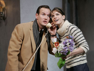 Patrick Wilson and Amanda Peet in Barefoot in the Park