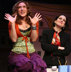 Farah Alvin and Stephanie D'Abruzzo  in I Love You Because
