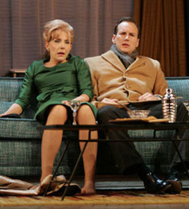 Jill Clayburgh and Patrick Wilson inBarefoot in the Park