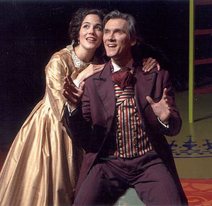 Yvette Lawrence and James J. Mellon in Barnum