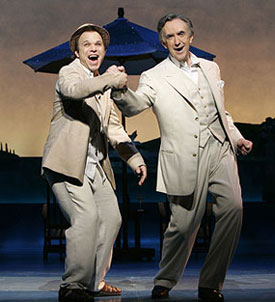 Norbet Leo Butz and Jonathan Prycein Dirty Rotten Scoundrels(Photo © Carol Rosegg)