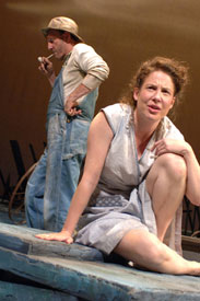 Raye Birk and Robin Weigert in A Moon for the Misbegotten (Photo © Kevin Berne)