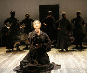 Phylicia Rashad and company in Bernarda Alba