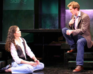 Alexandra Wailes and Jeffry Denman in Children of a Lesser God (Photo © Theresa Squires)