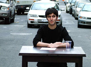Josh Lefkowitz in a publicity shot for Help Wanted (Photo © Kyle Ancowitz)