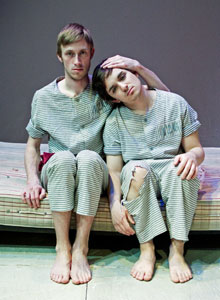 Kevin V. Smith and J.J. Brennan in The Maids X 2 Photo © Elizabeth Bick