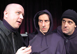 Pete Pryor, Dave Jadico, and John Lopes in Richard III