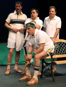 Daniel Ahearn, Steven Rattazzi, Danton Stoneand Victor Barbella in Men of Clay