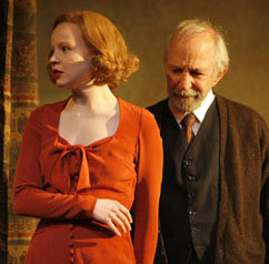 Lauren Ambrose and Ben Gazzara  in Awake and Sing!