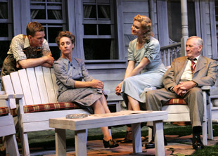 Neil Patrick Harris, Laurie Metcalf, Amy Sloan, and Len Cariou
