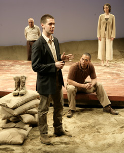 Richard Donelly, Stephen Thorne, Joe Wilson, Jr.,