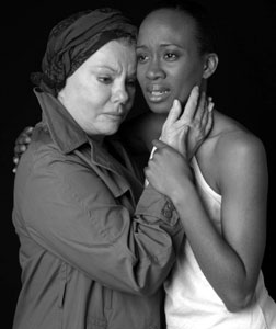 Marsha Mason and Monet Butler in Hecuba