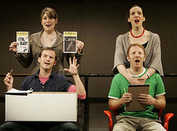 Heidi Blickenstaff, Susan Blackwell, Hunter Bell  and Jeff Bowen in [title of show]