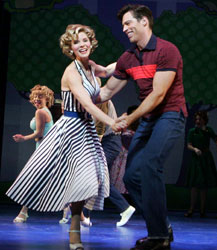 Kelli O'Hara and Harry Connick, Jr.