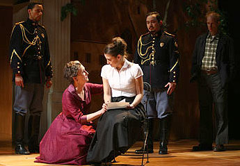 Kathleen Chalfant and Dana Green (foreground)in All's Well That Ends Well
