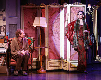Bob Martin and Beth Leavel in The Drowsy Chaperone(Photo © Joan Marcus)