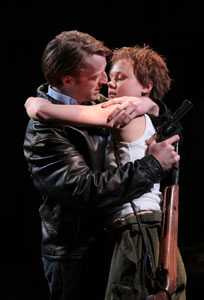 David Wilmot and Alison Pill in The Lieutenant of Inishmore