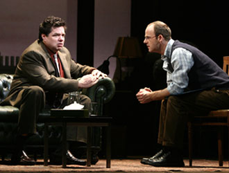 Oliver Platt and Brían O'Byrne in Shining City
