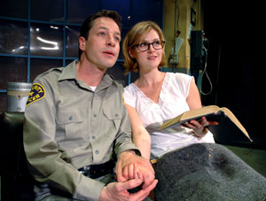 French Stewart and Sara Rue in Little Egypt (Photo © I.C. Rapoport)