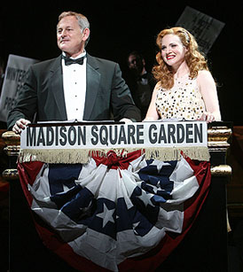 Victor Garber and Jennifer Laura Thompson  in Of Thee I Sing