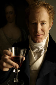 Ian Kelly in a publicity shot  for Beau Brummell