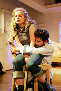 Gillian Jacobs and Daniel Eric Gold  in cagelove