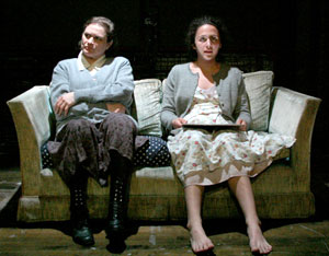 Anita Hollander and Lia Aprile in At Said  (Photo © Rachelle Roberts)