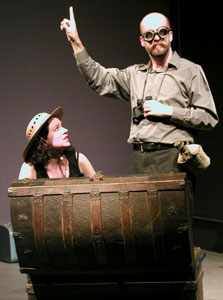 Karen Gruber and Bret Fetzer in Passport