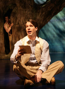 Kieran Campion in Love's Labour's Lost