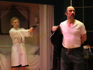 Tina Benko and Elias Koteas in Dark Yellow