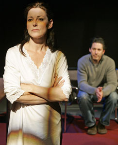 Ruthie Henshall and Scott Cohen inThe Other Woman 