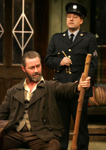 Marty Maguire and Laurence Lowry in The Field  (Photo © Carol Rosegg)