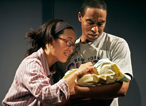 Sandra Oh and Kevin Carroll in Satellites