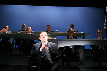 Thomas Jay Ryan and company,In the Matter of J. Robert Oppenheimer (Photo © Theresa Squire)
