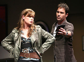 Maura Tierney and Eric McCormack in Some Girl(s)(Photo © Joan Marcus)